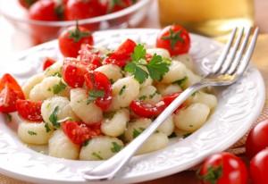 Gnocchi di patate al pomodoro crudo