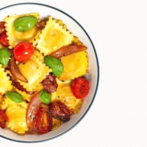Ravioli ai pomodorini