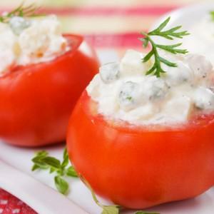 Pomodori Farciti Al Formaggio