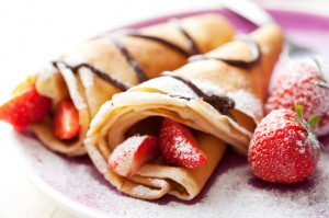 Crepes Alla Frutta Dell'estate