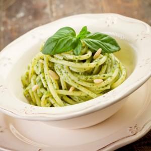 Spaghettini Al Pesto Delicato