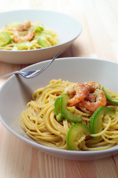 Spaghetti Con Pesce E Zucchine