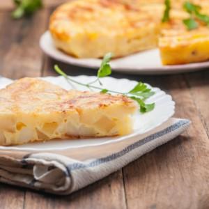 Frittata Con Cipolle E Patate