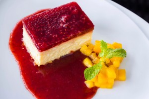 Cheese Cake Ai Lamponi