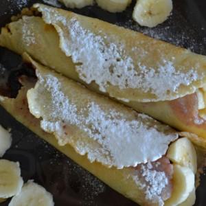Crepes Alle Banane
