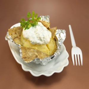 Patate Al Cartoccio Con Lo Yogurth