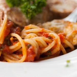 Spaghetti Con Melanzane