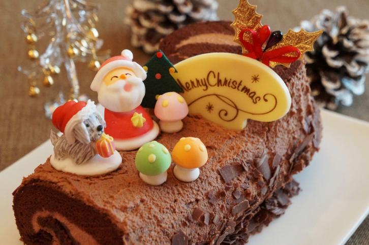 Tronchetto Di Natale Sale E Pepe.Tronchetto Di Natale