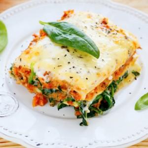 lasagne al basilico