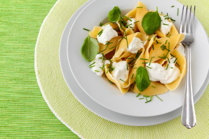 pasta con ricotta salata