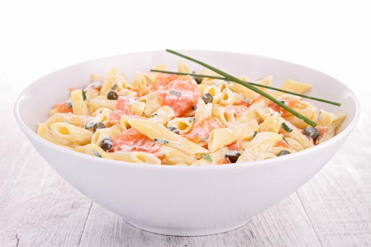 pasta al salmone
