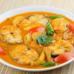 pesce al curry