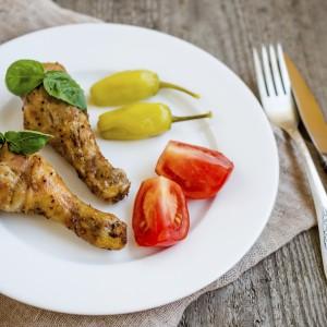 pollo con friggitelli