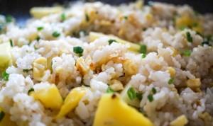 riso e ananas