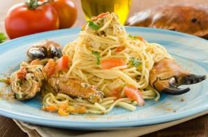 spaghettini granchio
