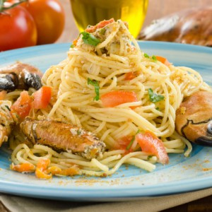 spaghettini granchio