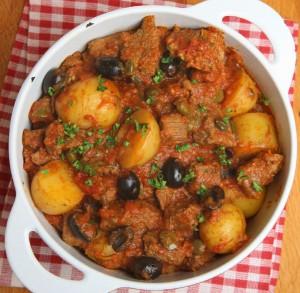 Spezzatino di agnello e patate