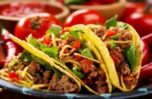 Tacos carne