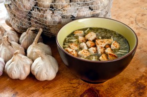 zuppa aglio